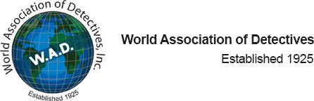 W.A.D.(世界探偵協会)に加盟